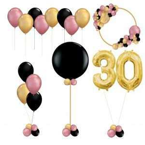 Inflated Balloons & Balloon Decorations For Parties & Functions